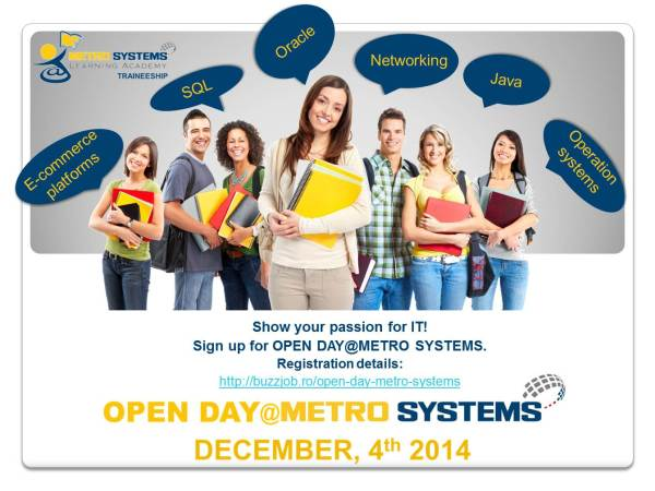 Open Day @Metro Systems