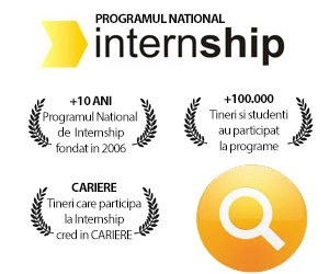 Cauta Programe de Internship si Trainee