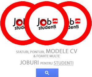 Joburi pentru studenti